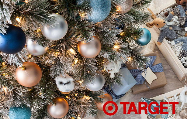 thru 1210 target is offering up a nice discount of 30 off select artificial trees lighting ornaments this week both in stores and online at targetcom - Target Christmas Tree Lights