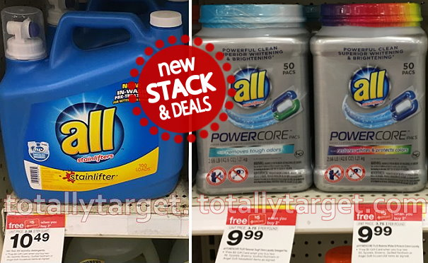 image about All Laundry Detergent Printable Coupons titled Fresh $1/1 All Laundry Detergent Printable Coupon + Awesome