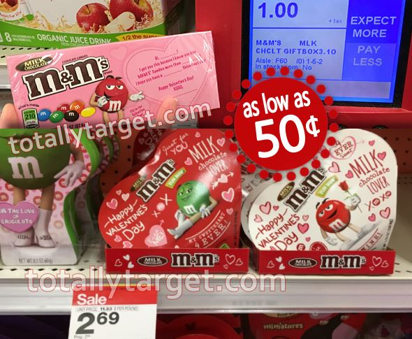 New 1 2 Mars Valentine S Day Chocolate Coupon Plus Nice Target Deals On M M S Dove As Low As 50 Totallytarget Com