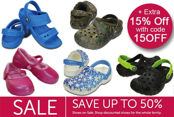 f4d3f07001f9 Crocs Sale  Get Extra 15% Off 2 Pairs of Sale Styles