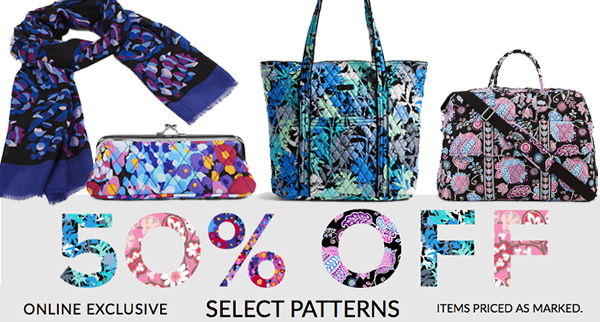 f3707c9baaf8 Vera Bradley Clearance  Extra 50% Off Select Patterns ...