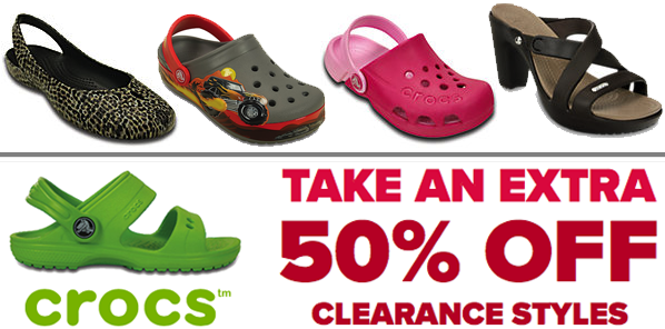 5082f0e8d36fb Crocs Sale  Get An Extra 50% Off Clearance Styles