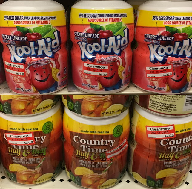 GROCERY-drink-mixes