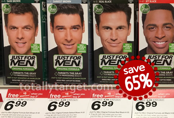 photograph regarding Just for Men Printable Coupon identified as Help you save 65% upon Only for Gentlemen Hair Shade at Concentrate
