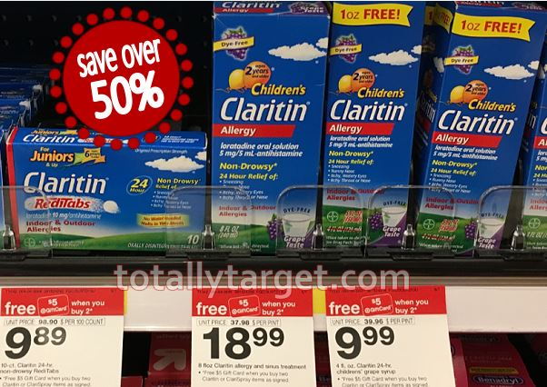 picture relating to Claritin Coupon Printable named Claritin  - Aspect 2