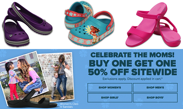 aa4f0df2f Check out Crocs for big savings on sale items. Now thru Sunday only (5 14)