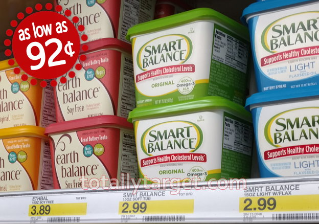 Nice Target Deals on Earth Balance & Smart Balance Buttery ...