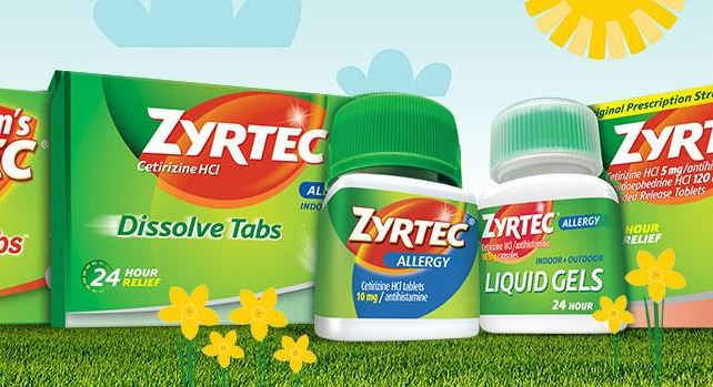 photograph relating to Zyrtec Printable Coupon $10 identified as Zyrtec