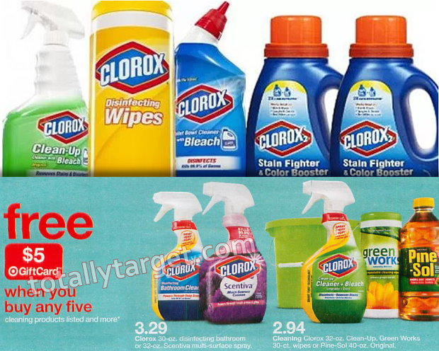 picture about Clorox Printable Coupons identified as $4 inside Refreshing Clorox Pine-Sol Printable Discount codes + Great Reward