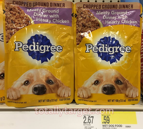 Pedigree Dog Food Pouches As Low As 5 At Target Totallytargetcom