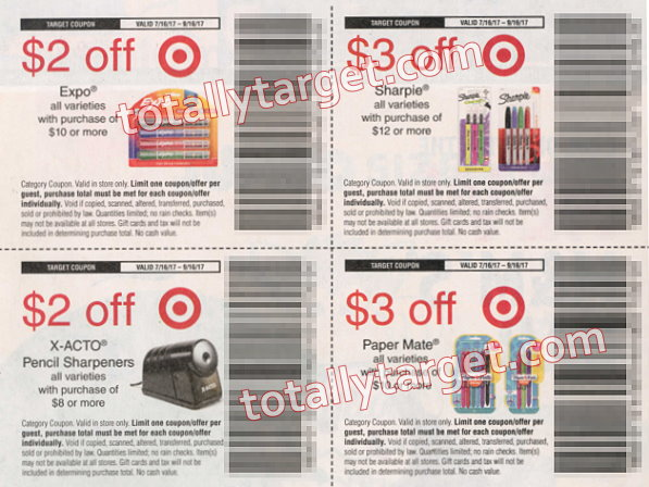 Sunday Coupon Insert Preview July 16th + Upcoming Target