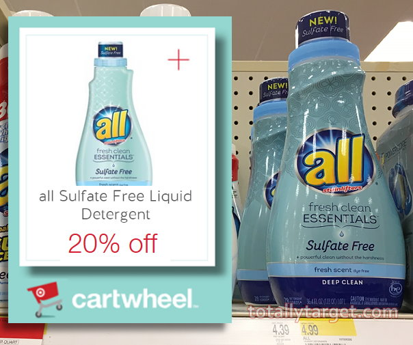 image relating to All Laundry Detergent Printable Coupons referred to as Fresh new $1/1 All Laundry Detergent Coupon in the direction of Stack