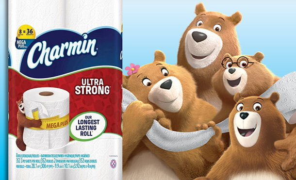 photo relating to Charmin Coupons Printable identify $4 Inside Printable Discount codes In direction of Conserve Upon Bounty Charmin