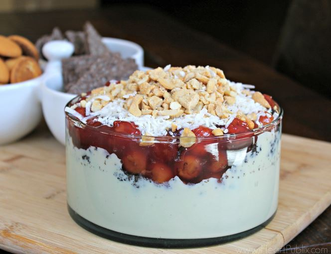 cherry dessert dip