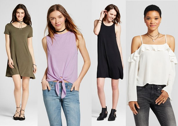2474154374f37a Women s Mossimo Supply Tees   Tanks  3.50 Each