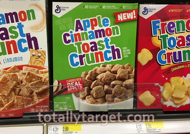 If You Havent Printed It Yet Can Still Grab A Nice High Value Coupon To Save 1 Apple Cinnamon Toast Crunch Strawberry OR Blueberry