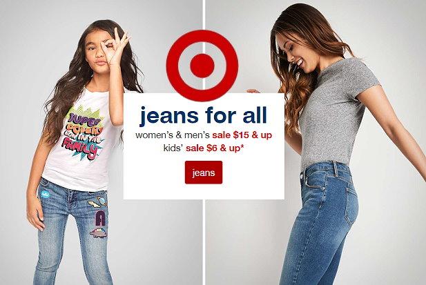 34862ffee3 Target Jeans Sale In Stores & Online - Nice Deals on Men's Women's ...