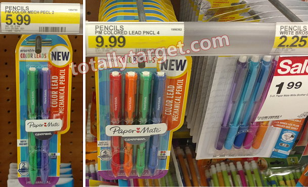 Great Back To School Deals On Paper Mate Bic Uni Ball Pens Pencils At Target As Low Free