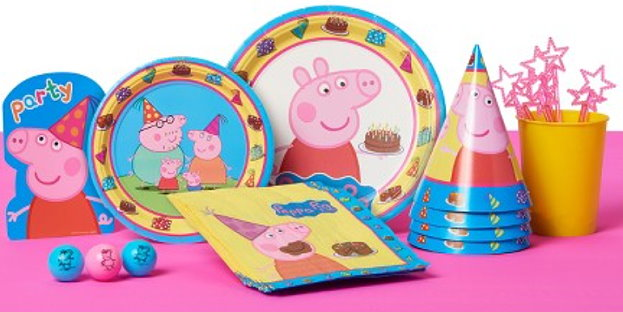There Are Lots Of Other Items To Choose From Too Including Several Different Character Themed Supplies For Example If Youve Got A Peppa Fan In Your