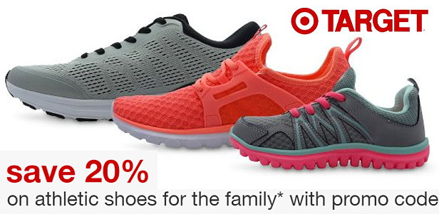Target: Extra 20% Off Athletic Shoes