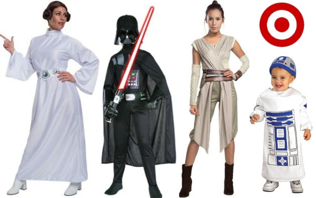 Thru tomorrow September 9th Target is offering Gift Card rewards for your Star Wars purchases both in stores and online at Target.com.  sc 1 st  Totally Target & Target: New Double Dip On Star Wars Halloween Costumes And More ...
