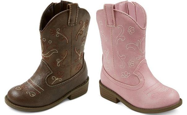 80e7a00d91d Get 30% Off Cat & Jack Toddler Girl's Cowboy Boots - TotallyTarget.com