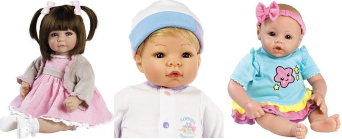 5885c144c Dolls range in size up to 20″ and in addition, this sale even also includes  accessories, clothing and other gear for baby dolls like strollers,  playpens and ...