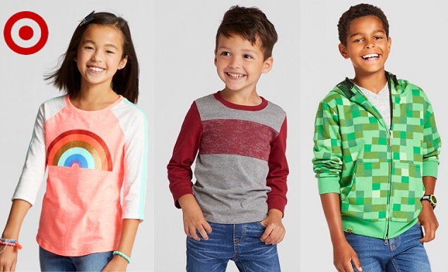 c304a1cdb kids-top. Thru October 9th, Target is offering up an extra 20% Off select  Kid's apparel both in stores and online ...