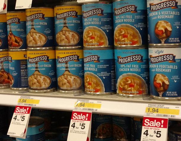 image regarding Printable Progresso Soup Coupons named Help you save Up toward 60% upon Progresso Soups at Aim -