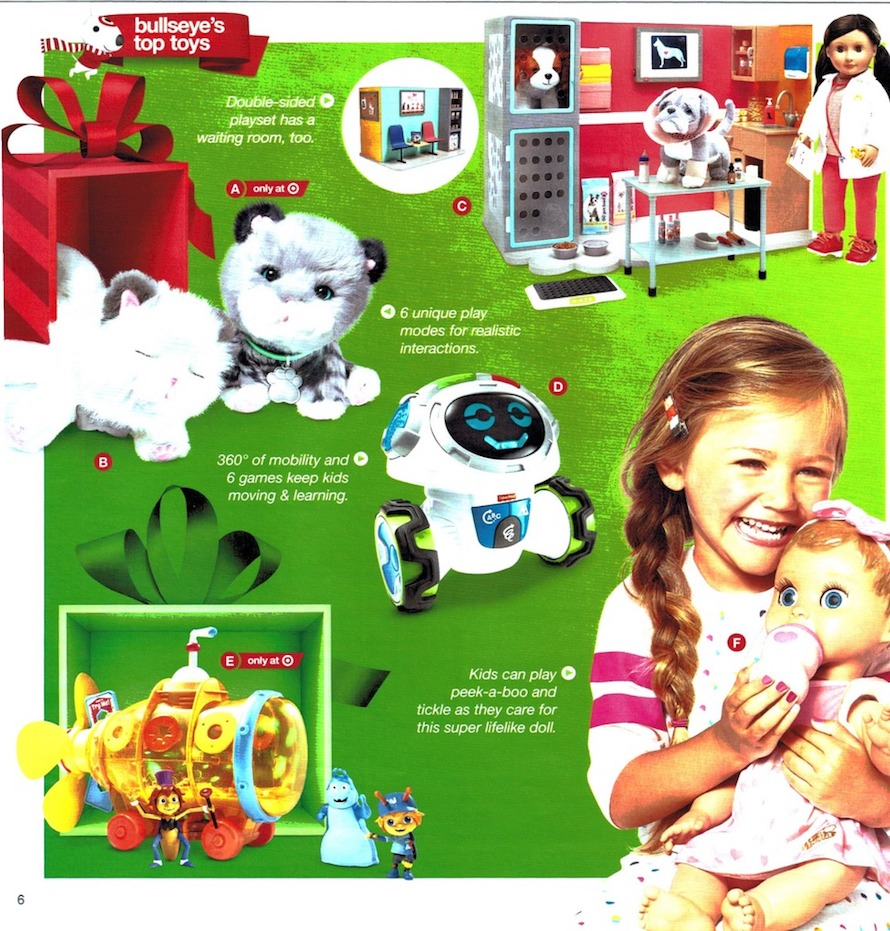 Target Toy Book 2017 Preview + Good News For The Holidays: Up To 50 ...