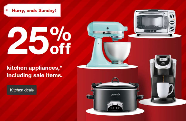 Get An Extra 25% Off All Kitchen Appliances At Target Thru 11/12 ...