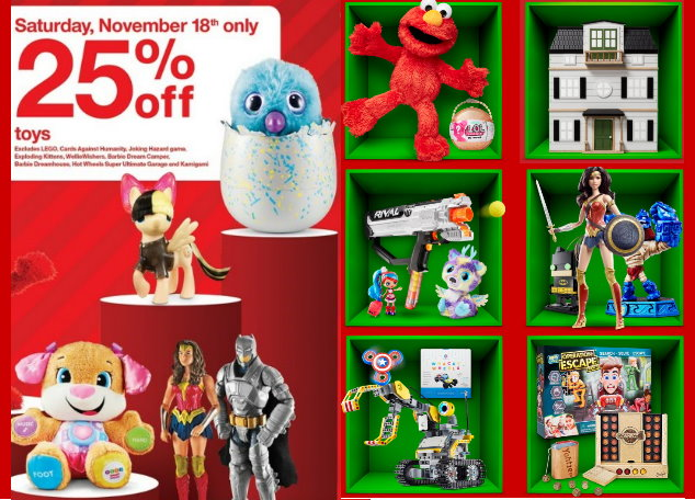 Toys From Target : Extra off toys at target saturday only roundup of