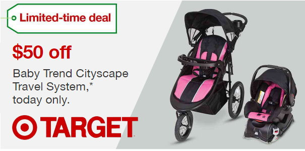 Target Com Save 50 On The Purchase Of A Baby Trend Cityscape
