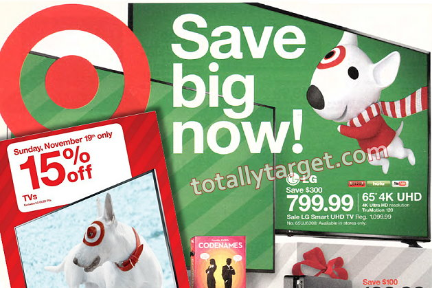 Save Big on TVs at Target with Upcoming Sales plus an Extra 15% Off