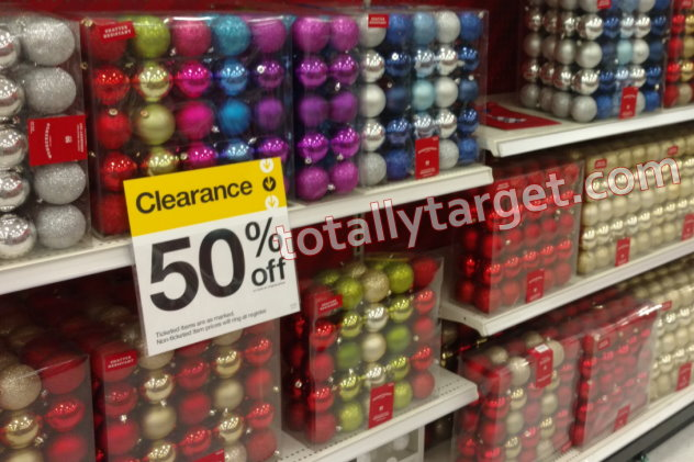 Target Christmas Clearance Up to 50