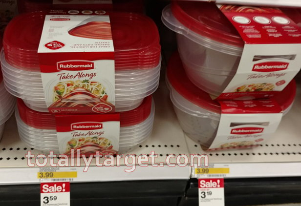 3 In New Rubbermaid Coupons Plus Nice Sales Target Deals On Food