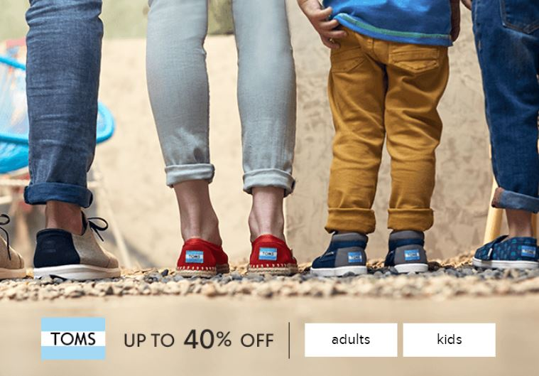 ec23fd57bf2 Today starts Zulily s TOMS sale with discounts of up to 40% Off on shoes  for Men