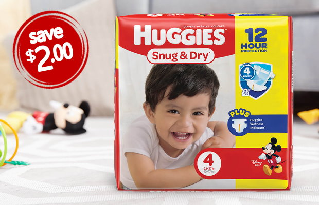 picture about Huggies Wipes Coupon Printable identified as Clean Printable Kid Coupon codes in the direction of Stack - Conserve upon Huggies