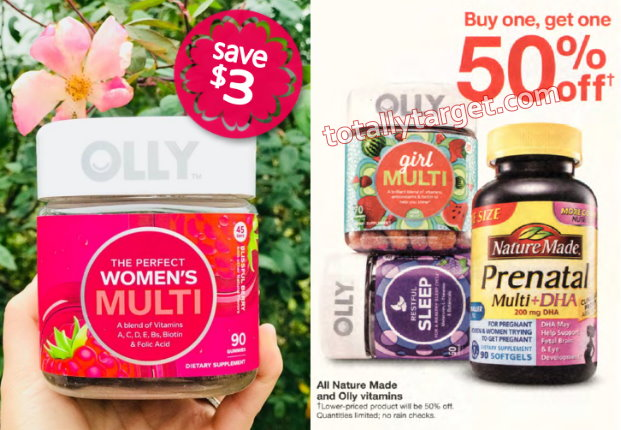 photograph relating to The Limited Printable Coupon named Scarce $3/1 Printable Coupon in direction of Conserve upon Olly Vitamins and minerals additionally Massive