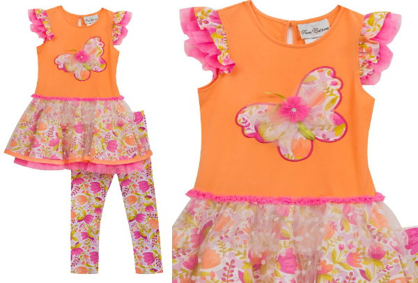 3349c2f9d If you are a fan of this brand – there is another really cute butterfly  outfit by Rare, Too! for Baby Girls that is marked down to 50% Off at  $12.48.