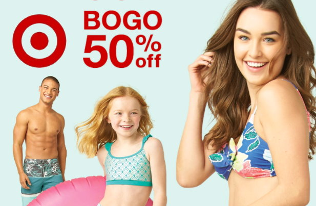 edb62e4d26 B1G1 50% Off Swimwear, Sandals & Shoes for the Whole Family at Target Both  In Stores & Online