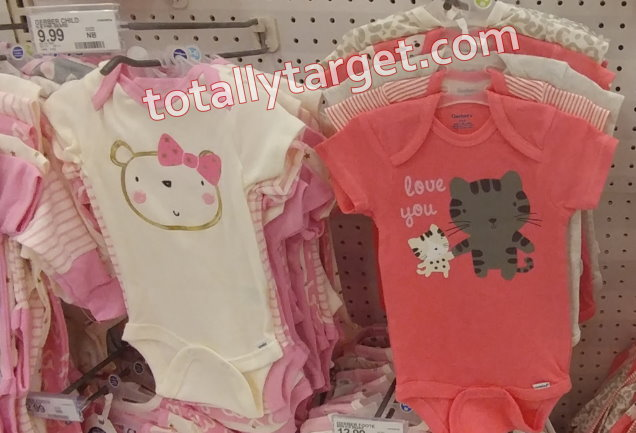 82d49d8a7 We have new Target cartwheel offers available to save an extra 15% on  Gerber Baby onesies & Sleep'n Plays to make for stacks and nice deals…