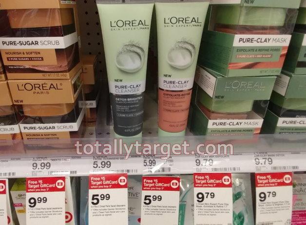 e1b87c29d7e Save Over 50% on L'Oreal & Garnier Facial Skin Care - TotallyTarget.com