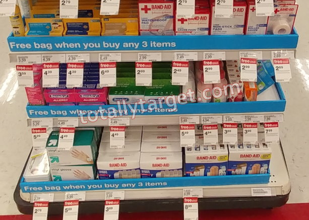 Get A FREE First Aid Bag At Target When You Purchase 3 First