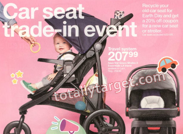 Get 20 Off A New Car Seat With Targets Upcoming Trade In Event
