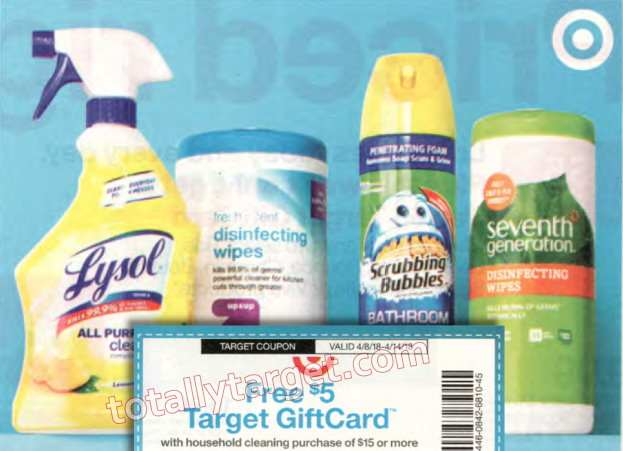 Big Savings on Household Cleaners at Target – Mr. Clean, Scrubbing Bubbles and More as low as 67¢