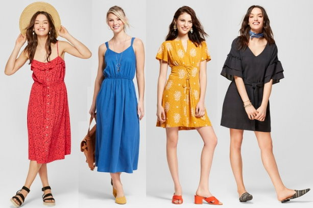769a08d1275c Thru Saturday, May 26th, you can save an extra 20% Off Womens dresses, both  in stores and online at Target.com. If you are shopping online, you can  choose ...