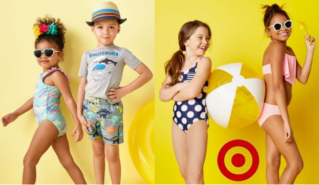 e646d1ce92 Thru tomorrow, Monday, May 28th, Target is offering an Extra 20% Off Swim  Wear for the family both in stores and online at Target.com.