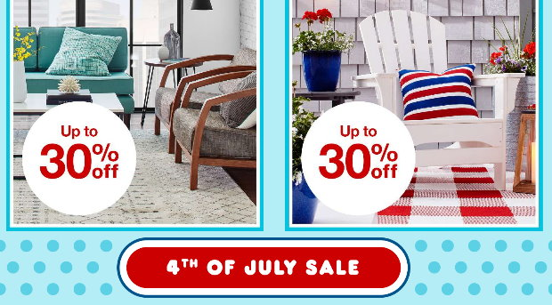 Target 4th Of July Home Sale Up To 30 Off Plus Get An Extra 15