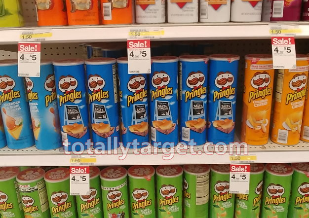 Pringles Just $1 Each at Target with Sale & Coupon